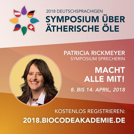 Einladung zum Symposium über ätherische Öle vom 04. – 08. April 2018