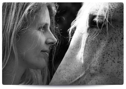 Content TeamEnjoy Martina Kohn mit Pferd